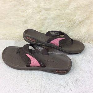 Columbia Sun Chill Thong Thong Sport Sandals Sz 9